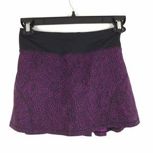 Lululemon Circuit Breaker Skirt Aurora Purple